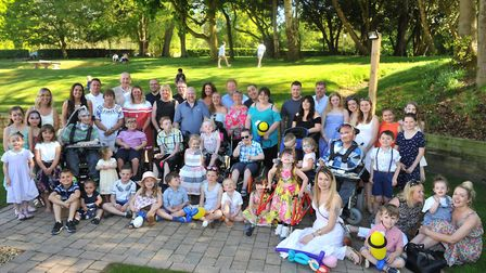 Fundraisers and families unite at GeeWizz tea party. Picture: LUCY TAYLOR PHOTOTGRAPHY *** Local C