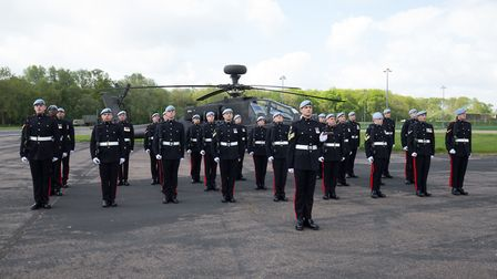 3 Regiment Army Air Corps led by Lieutenant Colonel N English prepare for the forthcoming royal wedd