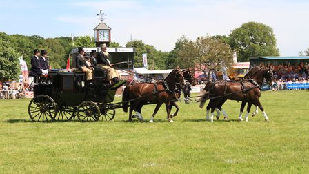 What activities can you expect at The Suffolk Show? Picture: SAA