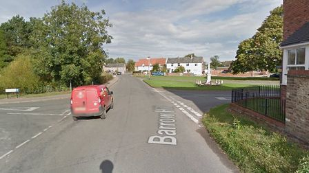 The incident happened on Barrow Hill, near Bury Road. Picture: GOOGLE MAPS