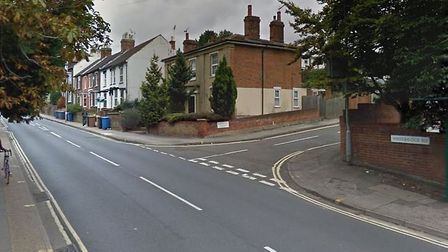 The burglary happened at a property in Woodbridge Road, near North Hill Gardens, Ipswich. Picture: G