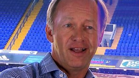 Ipswich Town owner Marcus Evans has given his first video interview. Picture: IPSWICH TOWN TWITTER
