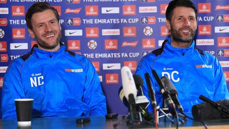 Lincoln City manager Danny Cowley and assistant/brother Nicky have signed new contracts until 2022.