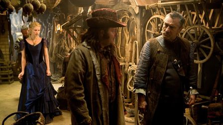 Claire Danes, Ricky Gervais and Robert DeNiro in the modern fairytale Stardust. Photo: Paramount Pic
