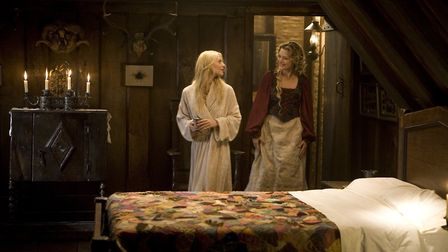 Claire Danes and Michelle Pfeiffer in the modern fairytale Stardust. Photo: Paramount Pictures