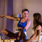 Maria Louis & Kelly Gough in A Streetcar Named Desire at the New Wolsey Theatre, Ipswich. Photo Cr