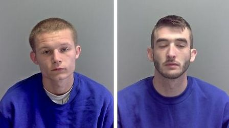 Thomas Dale (left) and Daniel Howard (right) have been jailed for for a total of nearly 20 years for