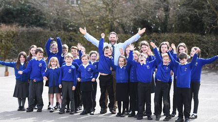Saxmundham Primary School received a good Ofsted report. Picture: GREGG BROWN