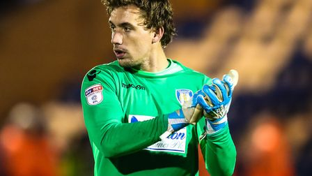 Sam Walker, who was only on the bench today, against Swindon