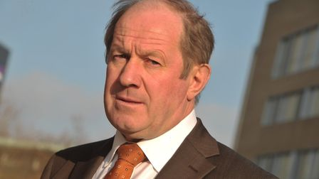 Suffolk's police and crime commissioner, Tim Passmore, said to have fewer victims supporting police