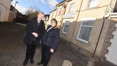 Westgate Ward Social Club's secretary Wendy Crafton, pictured left, said closure order had helped re