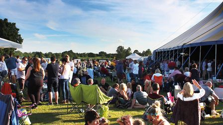 The Bures Music Festival in 2016