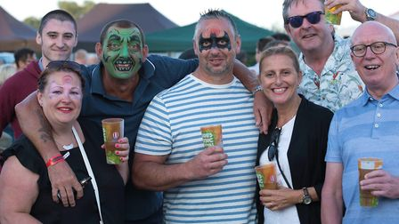 Festival-goers at the last year's Bures Music Festival. Picture: BMF