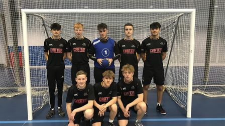 The Under 16s team from Stowmarket High. Picture: STOWMARKET HIGH SCHOOL