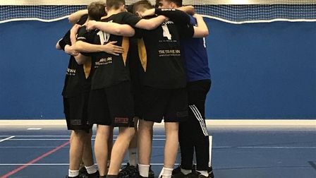 The boys finished fifth overall in the national competition. Picture: STOWMARKET HIGH SCHOOL