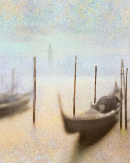 Hugh Milsom's Venice Impression will be on show at the East Anglian Federation of Photographic Socie