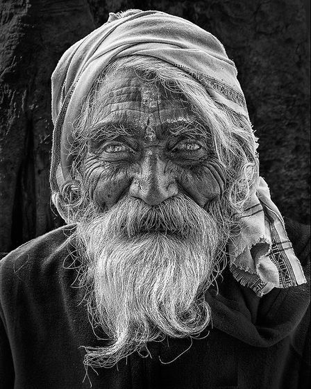 This shot of a Mathura Monk was taken by East Anglian Federation of Photographic Societies exhibitor