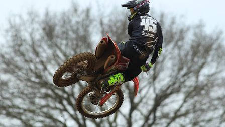 The flying Jake Nicholls, who will be in action at Blaxhall on May 6. Photo: RICK BLYTH