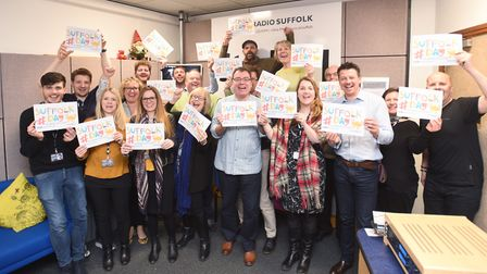 Radio Suffolk count down the days to Suffolk Day. Picture: GREGG BROWN