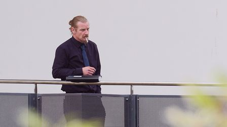 Matthew Jarman outside Ipswich Crown Court. Picture: SARAH LUCY BROWN