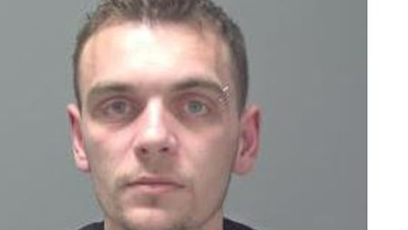 Jamie Phillips was sentenced to seven and a half years in prison. Picture: SUFFOLK CONSTABULARY