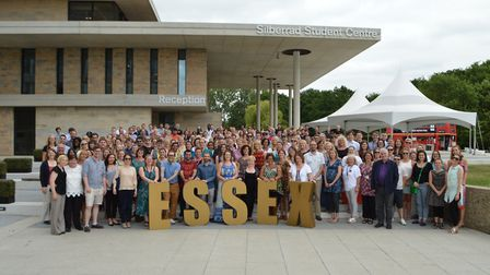 Celebrations at the University of Essex. Picture: UNIVERSITY OF ESSEX