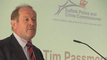Tim Passmore, Suffolk police and crime commissioner, will be touring the county with the chief const