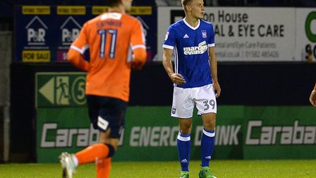 Luke Woolfenden has been recalled from his loan spell at Bromley by Ipswich Town. Photo: Pagepix