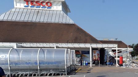 The Tesco store in Newmarket