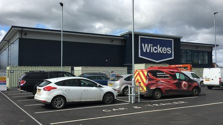 Wickes' new store at Newmarket. Picture: DANIEL HOPES