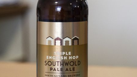 Adnams' Triple English Hop Southwold Pale Ale, Earl Grey Pale Ale and Raspberry Fruit Beer are avail