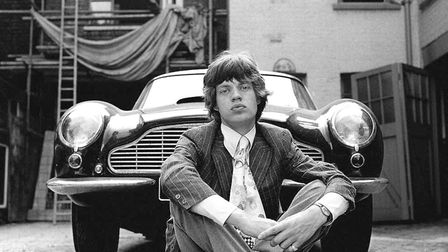 'Mick and Aston' by Gered Mankowitz - one of the works at this weekend's Art for Cure. Picture: GERE