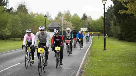 Participants raised over �12,500 in sponsorship. Picture: GEORGE WEBSTER/EHAAT
