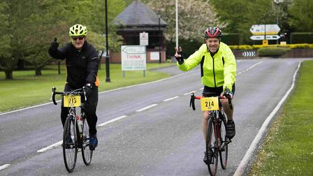 Cyclists had a choice of three, 20, 50 and 80-mile routes. Picture: GEORGE WEBSTER/EHAAT