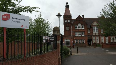 ACL's Wilson Marriage building in Colchester. Picture: DANIEL LAND