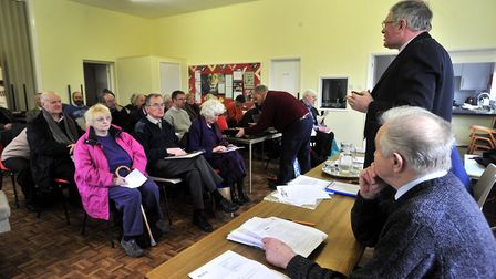 A previous ESTA meeting. Picture: LUCY TAYLOR