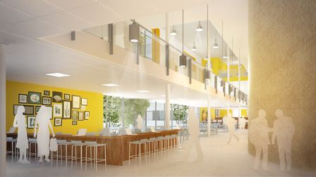 An view of the college entrance. Picture: SUFFOLK ACADEMIES TRUST