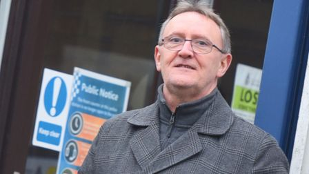 Former Hadleigh councillor Bill Wilson proposed the referendum. Picture: GREGG BROWN
