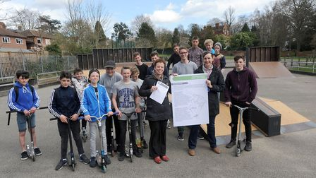 A consultation is launched over the relocation of Sudbury BMX park. Pictured at the Skate / BMX Park