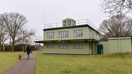 The Control Tower at Martlesham Heath. PIcture SARAH LUCY BROWN