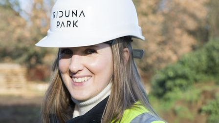 Katie Emerson, Project Manager for Riduna Holdings. Picture: RIDUNA HOLDINGS