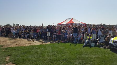 Thousands of people attended the Corbeau Seats Rally across Tendring yesterday. Picture: CHELMSFORD