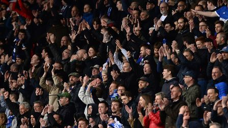 Ipswich Town have announced they have already sold more than 10,000 season tickets for 2018/19. Phot