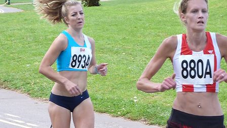 Holly Archer (893A), who has clocked 17:38 at the Cambridge parkrun, the sixth fastest by a female
