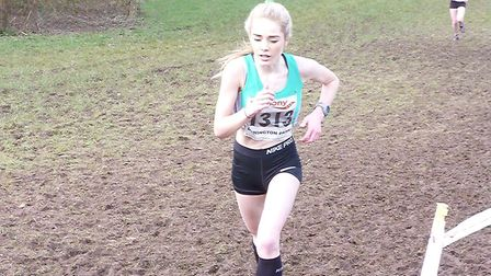 Charlotte Murphy, of West Suffolk AC, who is the fifth fastest female over the Cambridge parkrun cou