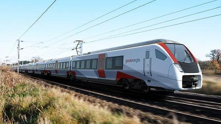The new Intercity Stadler train. Picture: GREATER ANGLIA