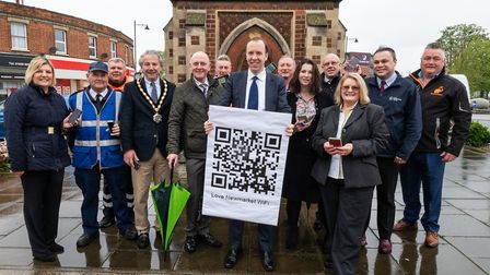 Matt Hancock, West Suffolk MP and secretary of state for digital, culture, media and sport joins New