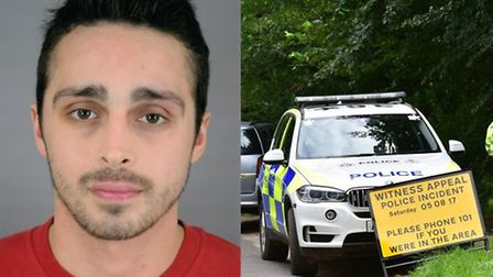 Alexander Palmer, who stabbed 83-year-old Peter Wrighton to death in East Harling. Picture: Norfolk
