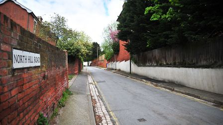 North Hill Road, Ipswich. Picture: SARAH LUCY BROWN