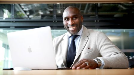 Sol Campbell believes he is 'one of the brightest minds in football'. Photo: PA